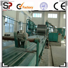 Fiber cement board production machine,insulation lightweight wall panel production machine,gypsum board production line!