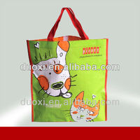 Hot Sale Latest OEM Service cute dog and cat non woven laundry bags