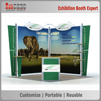 3x3 Frame strong used exhibition booth, portable trade show booth stand