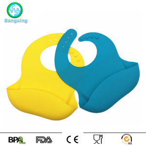 New Baby Bibs Crumb Catcher Adults Silicone Bibs For Feeding