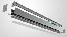 5 years warranty LED Linear Trunking System Pendant High Bay Linear LED Lighting fixture
