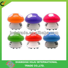 Mushroom hand held desk mini vacuum cleaners/ mini desk cleaners