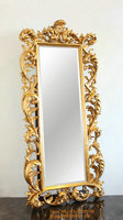 Antique gold baroque standing mirror frame manufacturer