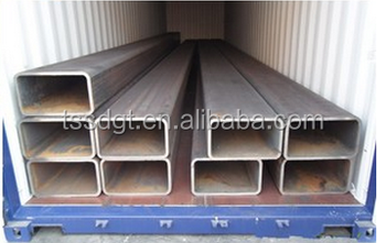 ASTM A500 grade B square/hollow rectangular steel tube weight