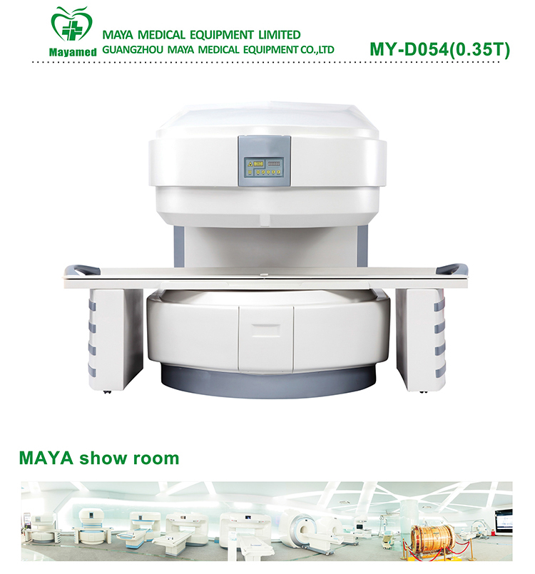 Reasonable price hospital 0.35T Magnetic Resonance Imaging equipment C-shape Permanent MRI scanner/scan/machine System for SALE