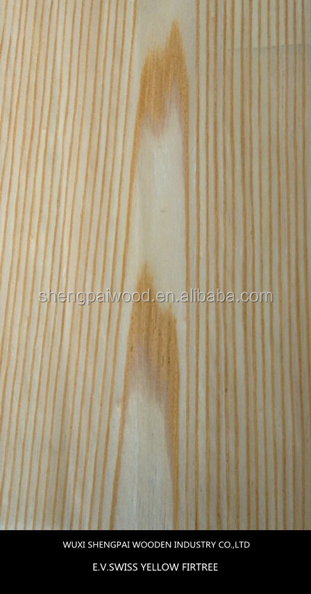 china cheap engineered firtree timber wood laminated recon face veneer sheets/veneer paper for decorative door ,floor,furniture