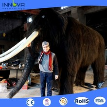 Innova-Iceage exhibition life size animatronic animated mammoth