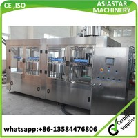 Newest automatic complete drinking water bottle filler equipment/drinking water machine(CE,ISO)