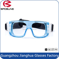 Hot wholesale PC black onion cutting safety goggles anti scratches dustproof basketball football safety glasses with clear lens