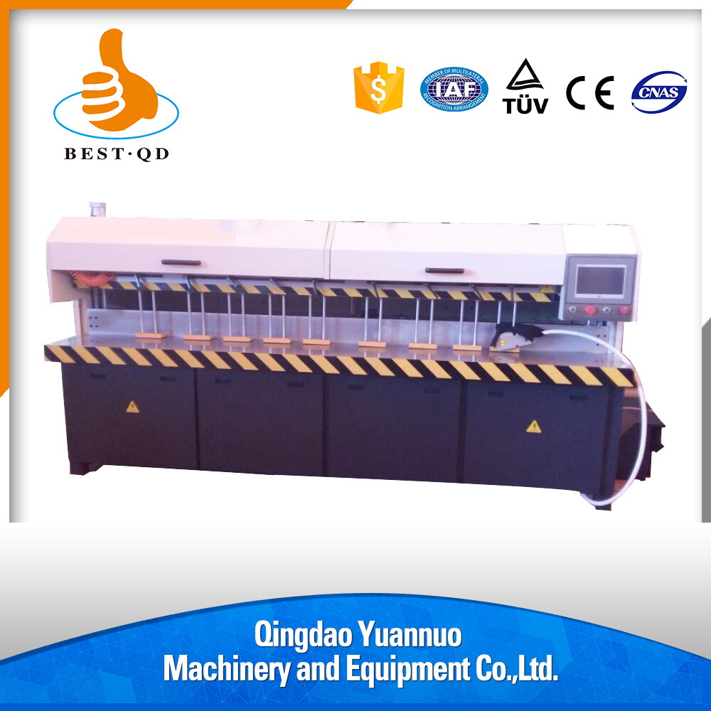 Hot Selling color LED touch screen Adjustable angle acrylic edge horizontal long axis polishing machine