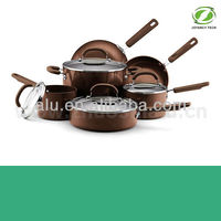TOP QUALITY!! Aluminum Non-stick Cookware cooking pot dinner set(ZS-C610)