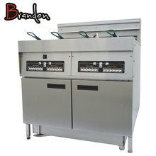 Commercial Potato Chips Fryer Machine Electric Deep Fryer With Oil Filter