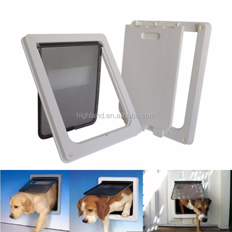 Pet door The dog cathole big dog door Freely in and out of the control switch