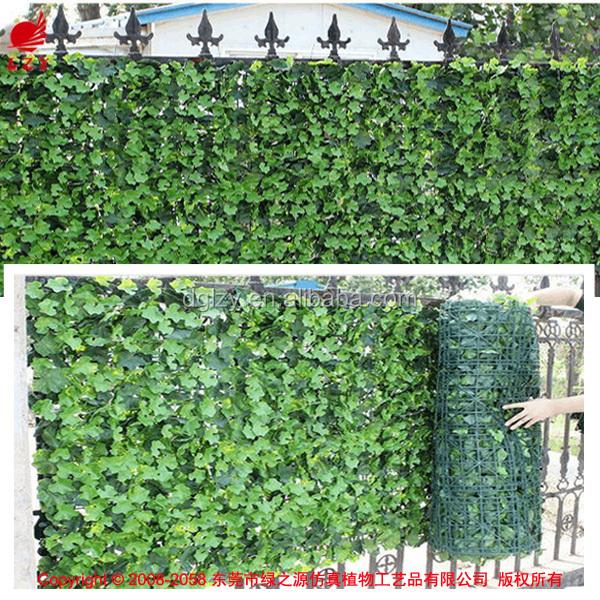 Al aire libre artificial hiedra valla de jard n de for Valla plastico jardin
