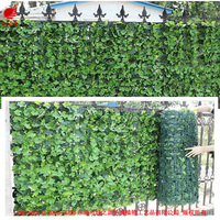 Outdoor artificial Ivy leaf fence plastic garden fence artificial leaf fence