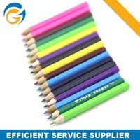 Wood Promotional School Glitter Color Pencil Styptic Pencil