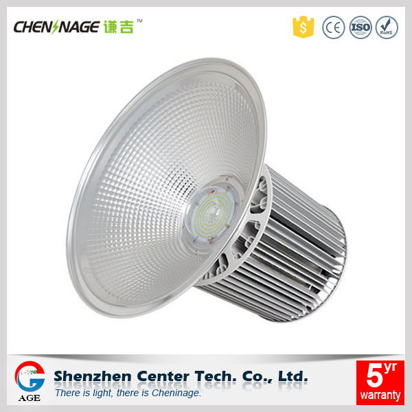 5 years warranty warm white 150w industrial led high bay light