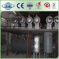 Waste Tyre Pyrolysis Recycling To Oil Refining Machine