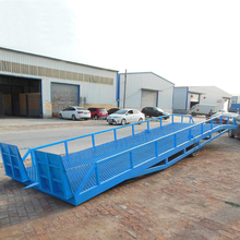 forklift loading dock yard truck ramps