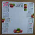 Custom dry erase magnetic weekly calendar paper writing board