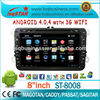 Factory Android 4.0 Central Multimedia Player for VW Magotan with GPS/BT/DVD/ATV/FM/AM/RDS/3G/WIFI/USB/SD fast delivery