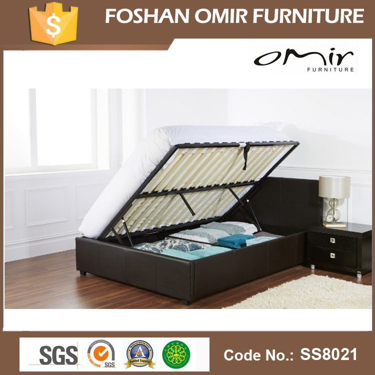 China wholesale synthetic leather double bed bedroom for Cheap double bed frames under 50