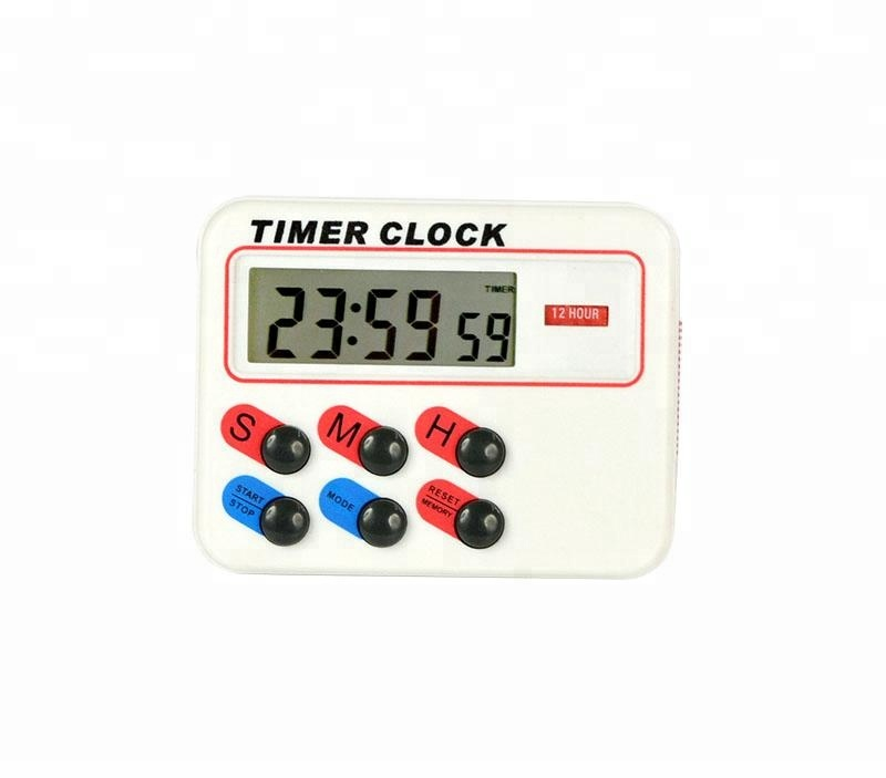 Best selling multi-function home use digital electronic countdown timers clock mini kitchen LCD screen timer