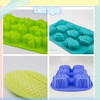 2016 Silicone Cake Mold Fruit Model Silicone Mold Chocolate Mold Baking Tools
