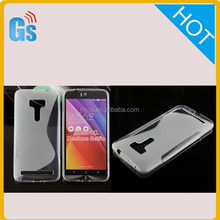 One Dollar Shop Tpu S Line Wave Case For Asus Zenfone Selfie Zd551kl Cover