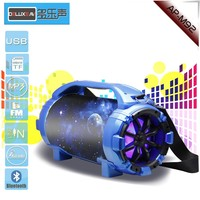 Heavy duty Bluetooth Sound Tube Speaker System with USB Reader 3.5mm AUX, RCA Inputs and FM Radio