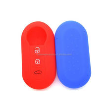 Cool Design Waterproof Fiat 500 Silicone Car Key Cover Case