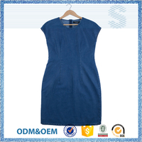 Passed SGS test leisure one piece dress for girls