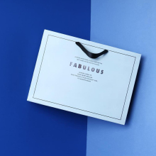 good quality print foldable gift paper bag
