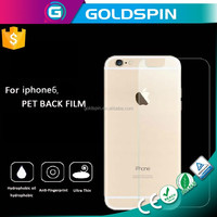Trade Assurance Supplier OEM/ODM Welcome Anti-Glare Screen Film For iPhone 6 PET Back Film