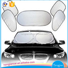 6Pcs Foldable Car Window Solar Protection Cover Car Windshield/Rear Window/Side Window Aluminium Sun Shade Cover