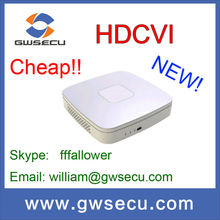 dahua 720P 4 channel synchronous realtime playback GRID interface & smart search HDCVI DVR 4TB HDD HCVR5104C/HCVR5108C ZOOM POE