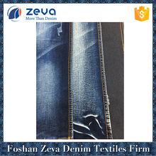 Wholesales factory price woven denim fabric stock lot for mens jeans