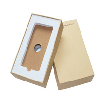 Brown Mobile Phone Case Packaging Paper Box with Your Own Logo