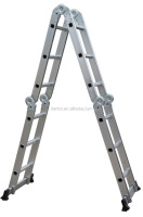 ALUMINIUM LADDER WITH SMALL HINGE