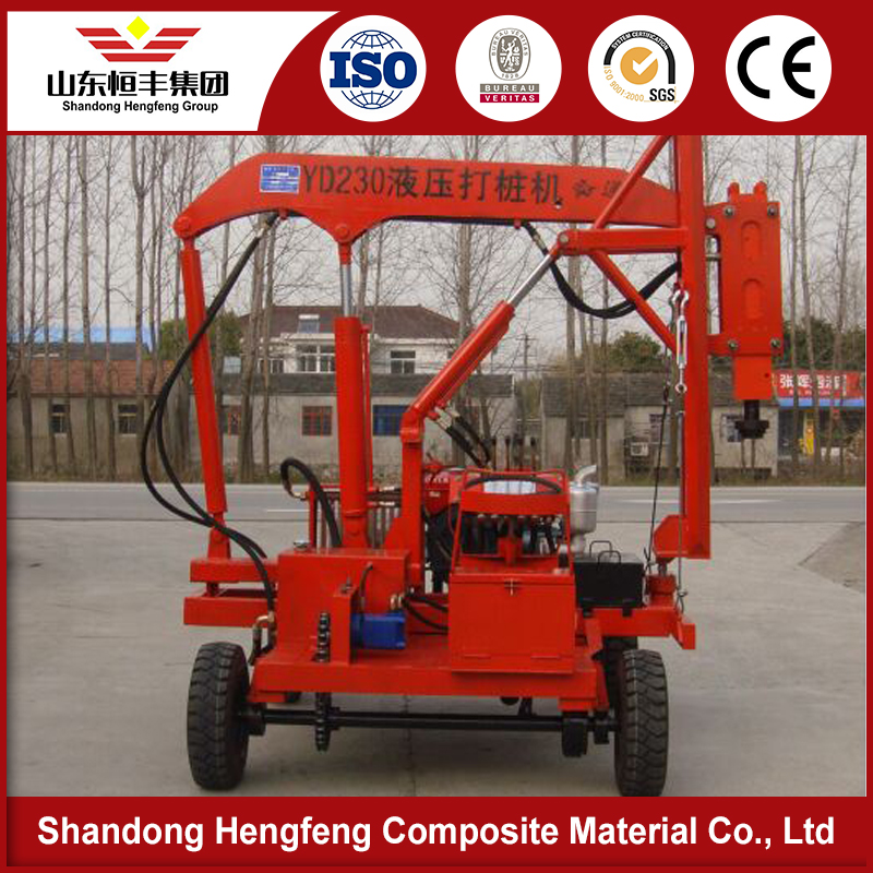 wholesale promotional High Performance guardrail punch truck for sale