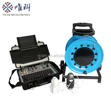 360 degree rotation underwater deep water well inspection camera underground borehole inspection camera V8-3288PT-2