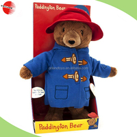 Official Talking Paddington Bear Movie Edition Plush Soft Toy - Boxed Sound,sound chip for plush toy and doll