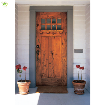 india single exterior mahogany solid wood french door designs, View ...