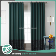 High Performance OnTherma Insulated Tripe Weave Microfiber Printing Blackout Curtains