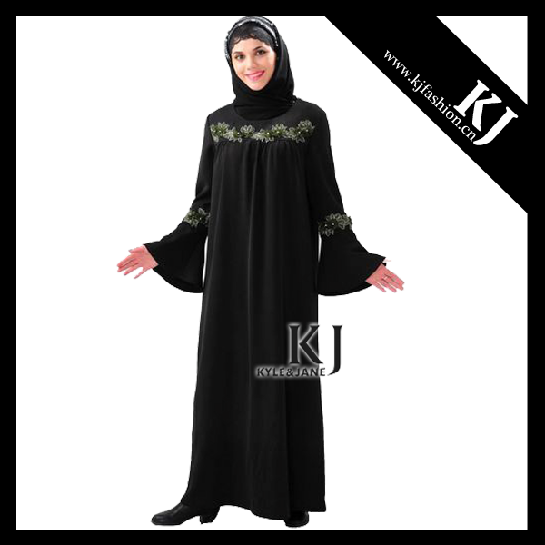 Latest KJ abaya islamic clothing 2017 for women KJ-WAB1034