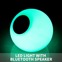 Round ball LED bluetooth speaker/color changing LED ball with bluetooth speaker