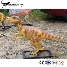 Customized Simulation Fiberglass Dinosaur Model for Jurassic Theme Park Decoration