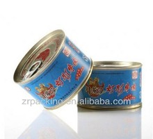 Custom round/empty/airtight/disposable paper corned beef can