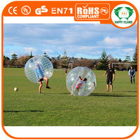 HI 2014 TOP SALE PVC/TPU giant inflatable bubble ball for soccer