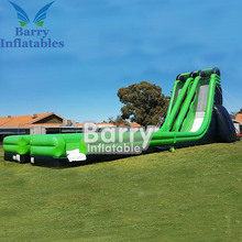 High quality large double lane inflatable commercial water slides for sale